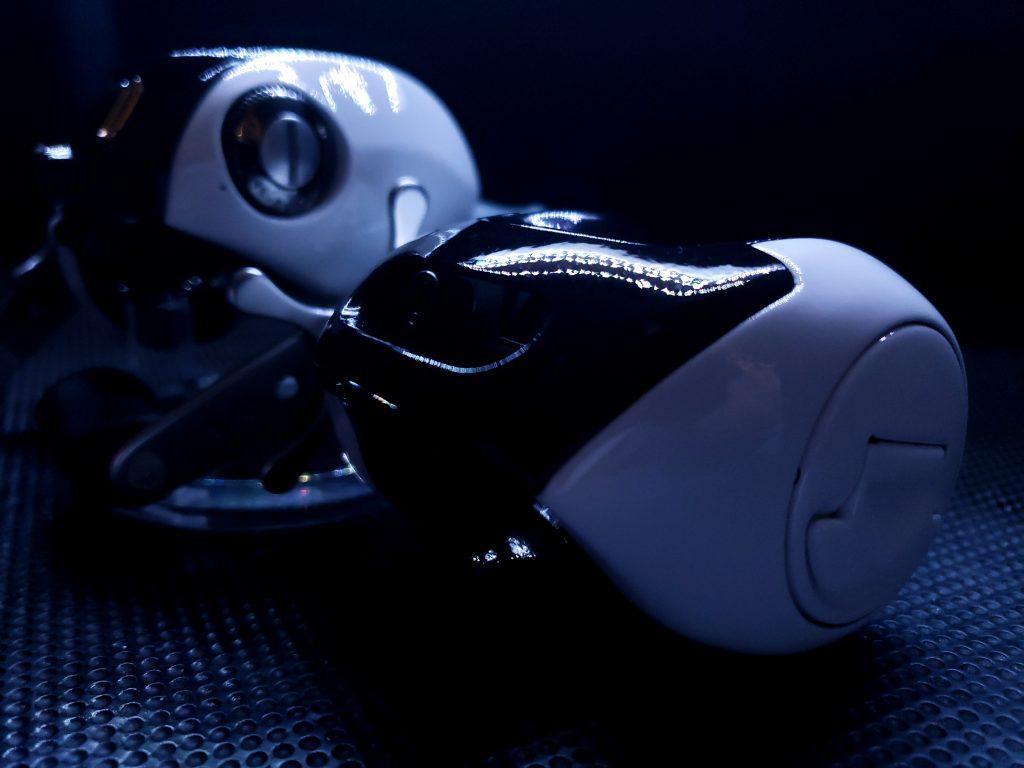 Shimano Curado Custom White and Black