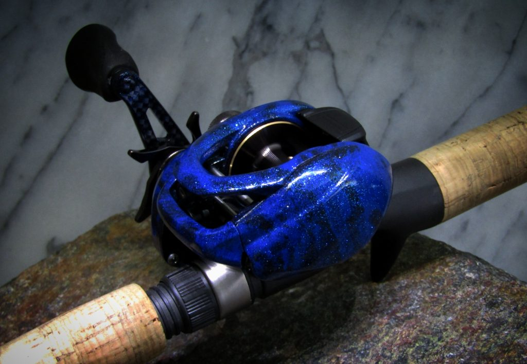 Shimano Curado Custom Blue Flame