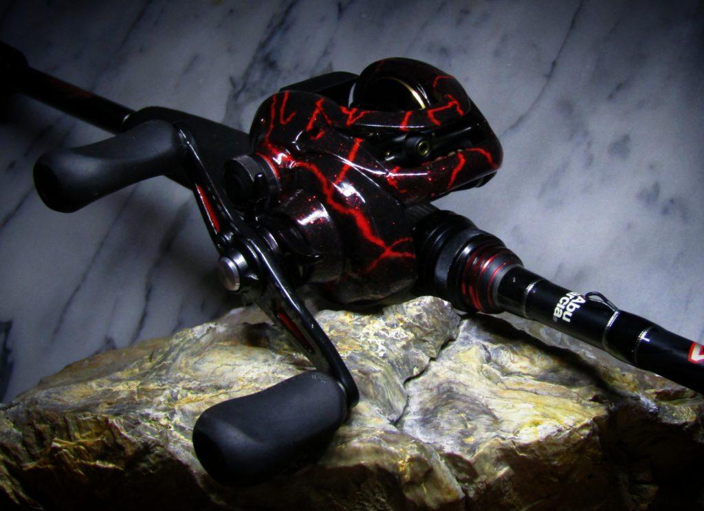 Shimano Curado Custom Red Veins