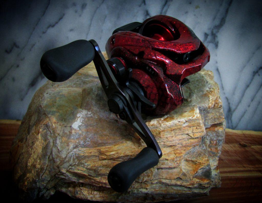 Shimano Caenan Custom Metallic Red Netting